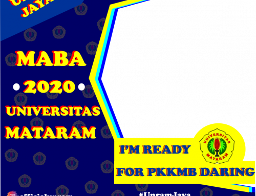 Twibbon PKKMB Universitas Mataram 2020